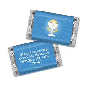 Personalized First Communion Hershey's Miniatures Wrappers Chalice