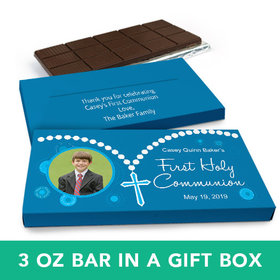 Deluxe Personalized Boy I Did It! Chocolate Bar in Gift Box (3oz Bar)