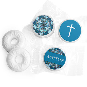 Personalized Stained Glass Communion Life Savers Mints