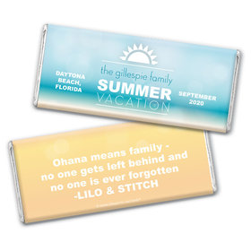 Family Reunion Personalized Chocolate Bar Wrappers Ohana