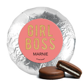 Personalized Girl Boss Chocolate Covered Oreos (24 Pack)