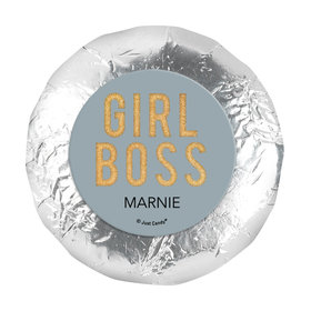 "Personalized Girl Boss 1.25"" Stickers (48 Stickers)"