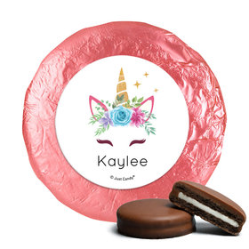 Personalized Birthday Magical Unicorn Chocolate Covered Oreos (24 Pack)