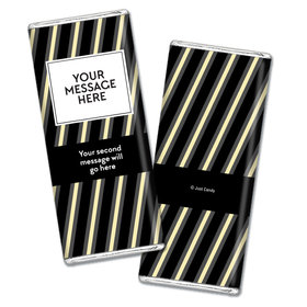 Personalized Adult Birthday Chocolate Bar Wrapper