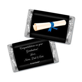 Graduation Personalized Hershey's Miniatures Wrappers Diploma