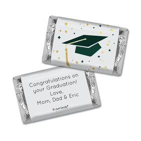 Graduation Personalized Hershey's Miniatures Cap & Confetti
