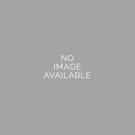 Blue Graduation Script Small Gold Plastic Tin with Just Candy Blue Minis