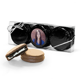 Personalized Graduation Full Photo 3PK Chocolate Covered Oreo Cookies
