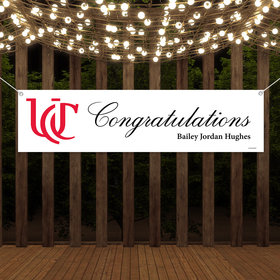 Personalized Congratulations Photo Graduation 5 Ft. Banner