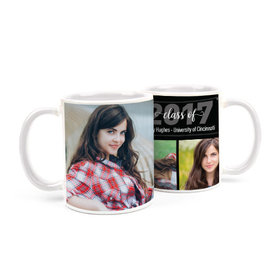 Personalized Graduation Photos 15oz Mug