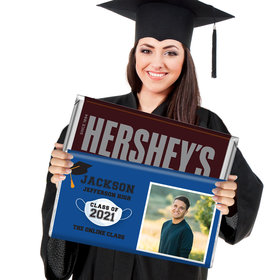 Graduation Gifts Personalized 5lb Hershey's Chocolate Bar (5lb Bar)