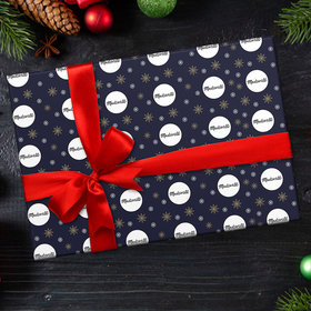 Personalized Corporate Logo Christmas Wrapping Paper