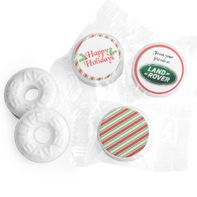 Personalized Christmas Candy Cane Life Savers Mints