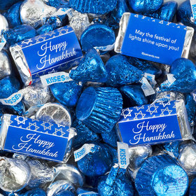 Hanukkah Hershey's Miniatures, Kisses and Reese's Peanut Butter Cups