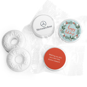 Personalized Christmas Decorative Wreath with Logo Life Savers Mints