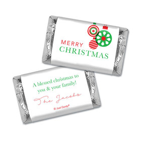 Personalized Christmas Ornaments Hershey's Miniatures