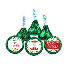 Personalized Christmas Naughty or Nice Hershey's Kisses (50 pack)