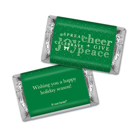 Personalized Christmas Spread Cheer Hershey's Miniatures
