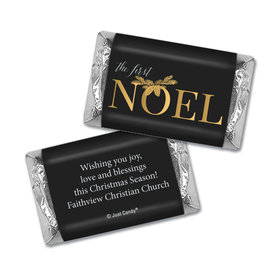 Personalized Christmas First Noel Hershey's Miniatures