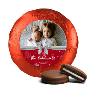 Personalized Christmas Welcoming Joy Chocolate Covered Oreos