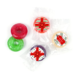 Personalized Christmas St. Nick Life Savers 5 Flavor Hard Candy