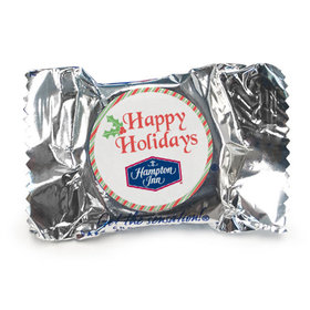 Personalized Christmas Stripes York Peppermint Patties
