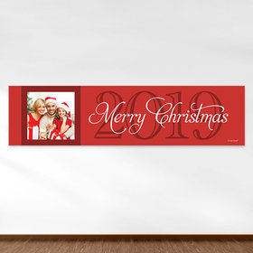 Personalized Christmas Merry Wish 5 Ft. Banner