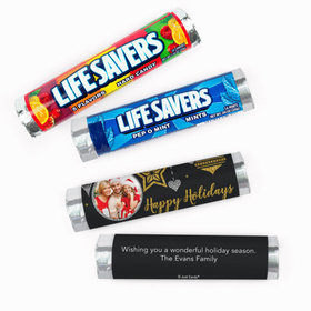 Personalized Christmas Once Upon a Holiday Lifesavers Rolls (20 Rolls)