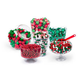 Merry Christmas Deluxe Candy Buffet
