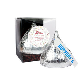 Personalized Christmas Doodles 12oz Giant Hershey's Kiss