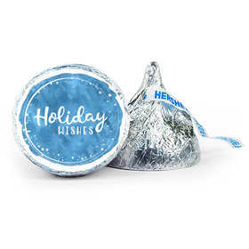 Personalized Holiday Wishes 7oz Giant Hershey's Kiss