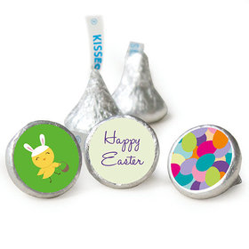 """Easter 3/4"""" Sticker Bunny and Egg Hunt (108 Stickers)"""