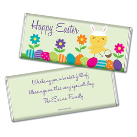Easter Personalized Chocolate Bar Bunny and Egg Hunt