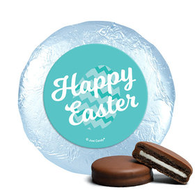 Easter Chevron Egg Milk Chocolate Covered Oreos (24 Pack)