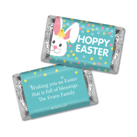 Personalized Easter Blue Chick Mini Wrappers