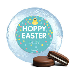 Personalized Easter Blue Chick Milk Chocolate Covered Oreos (24 Pack)