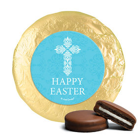 Easter Blue Cross Milk Chocolate Covered Oreos (24 Pack)