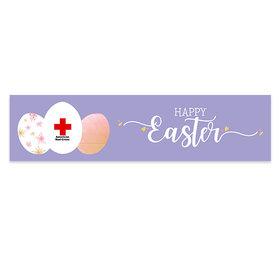 Personalized Easter Add Your Logo 5 Ft. Banner