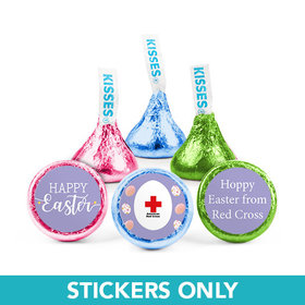 "Personalized Easter Egg Add Your Logo 3/4"" Stickers (108 Stickers)"