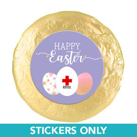 "Personalized Easter Egg Add Your Logo 1.25"" Stickers (48 Stickers)"