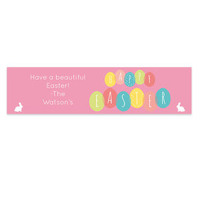 Personalized Easter Egg Party 5 Ft. Banner