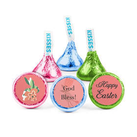 Easter Floral Bunny Hershey's Kisses (50 Pack)