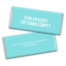 Personalized Easter Empty Tomb Chocolate Bar Wrappers Only