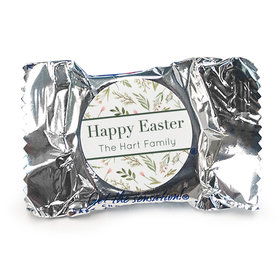 Personalized Easter Spring Greenery York Peppermint Patties