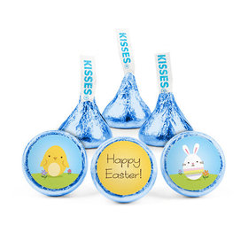 Personalized Easter Peeps Hershey's Kisses (50 pack)