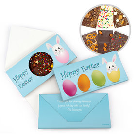 Personalized Easter Egg Hatched Gourmet Infused Belgian Chocolate Bars (3.5oz)