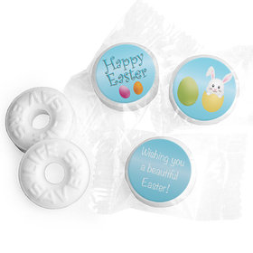 Personalized Easter Hatched a Bunny Life Savers Mints