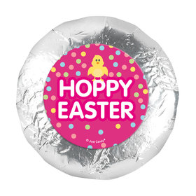"Easter Pink Chick 1.25"" Stickers (48 Stickers)"