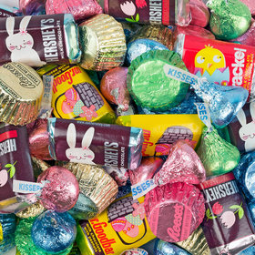 Hershey's Easter Miniatures, Kisses, and Reese's Mix