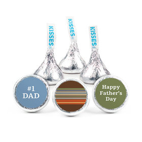 Personalized Father's Day Stripes Hershey's Kisses (50 pack)